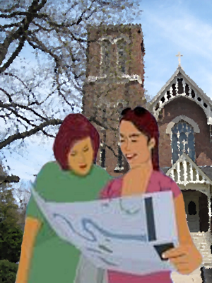 Reading Map to Infant Jesus Parish