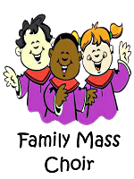 Infant Jesus Family Mass Choir Clipart