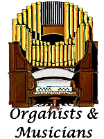 Organists at Infant Jesus Clipart