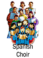 Infant Jesus Spanish Community Choirs Clipart