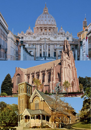 Infant Jesus Church Hierarchy via Church Buildings